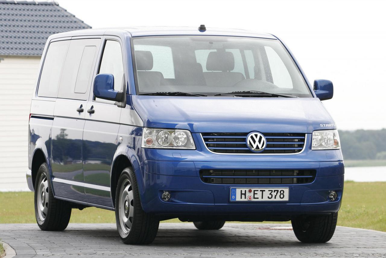 vw volkswagen transporter caravelle multivan t5 5 generace. Black Bedroom Furniture Sets. Home Design Ideas