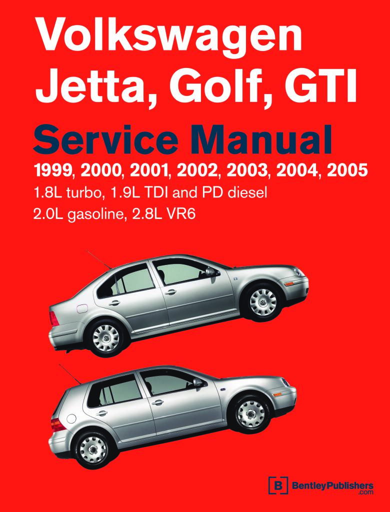 Volkswagen Golf Official Factory Repair Manual 1999 2005