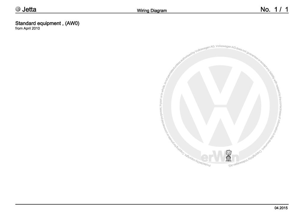 Jetta Wiring Diagrams And Component Locations Pdf  30 5 Mb