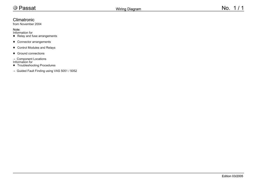 Passat B6 Wiring Diagram Pdf  34 9 Mb